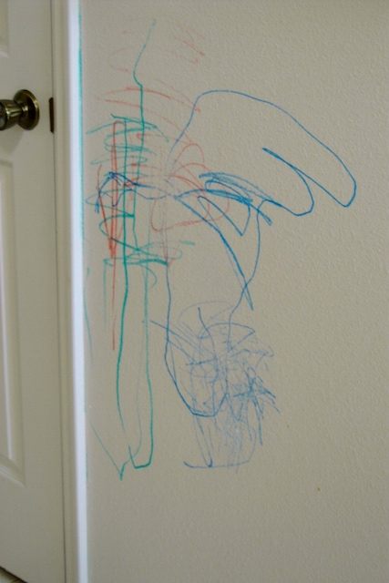 Dry Erase Markers on the Wall