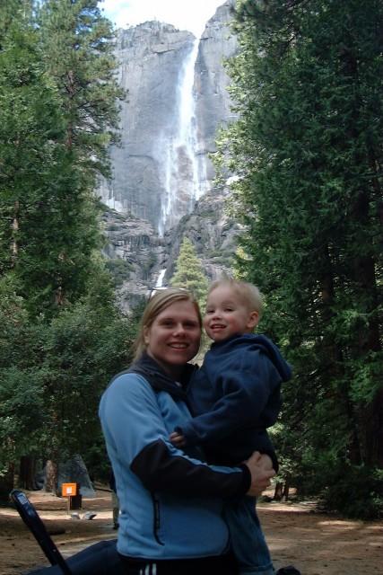 Kyle and I at Yosemite National Park