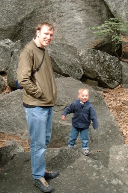 Dave and Kyle at Yosemite National Park