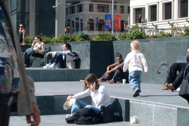 Kyle, Union Square, San Francisco, California