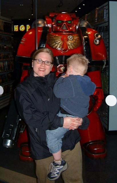 Kyle and I at the Metreon San Francisco