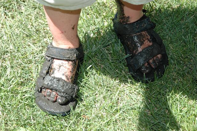 Salt Lake City, Utah: Easy E's Muddy Feet