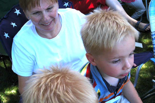 Wawa & Kyle, Pioneer Day Parade, Liberty Park, Salt Lake City, Utah