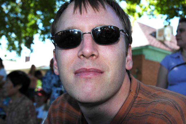 Big Daddy at the Pioneer Day Parade, Salt Lake City, Utah