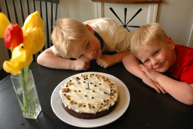 Copyright CrazyUs.com - The Boys for my Birthday!
