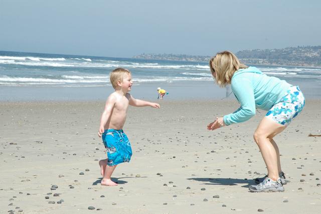 Copyright CrazyUs.com -- Easy E and I Mission Beach, San Diego, CA