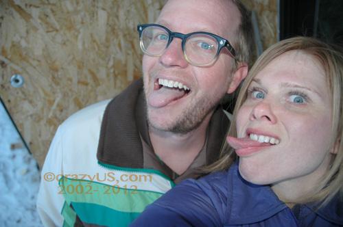 Phil & I. We like Birthdays!