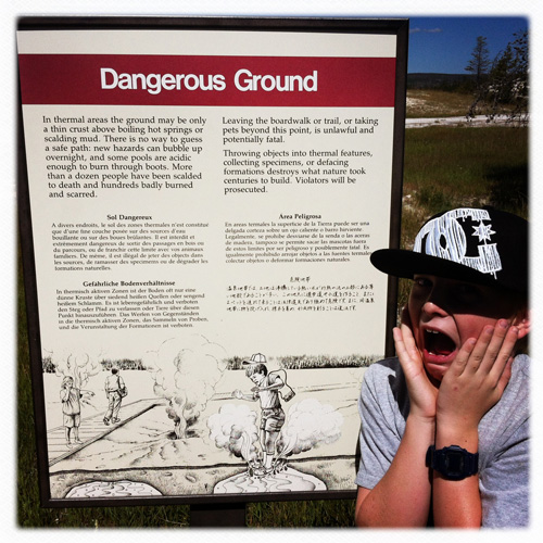 Yellowstone National Park: I'm not overreacting. It is scary!