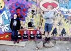 Graffiti Wall in Bisbee, Arizona
