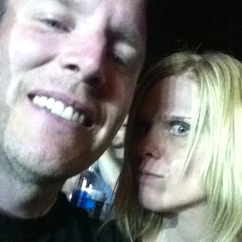 Dave & I at The Head & The Heart concert