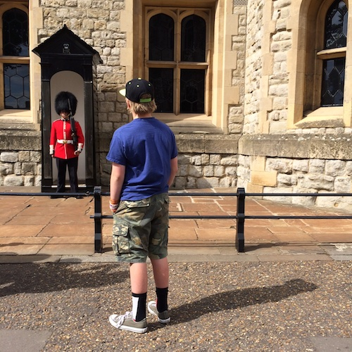 Tower of London Stare-Off
