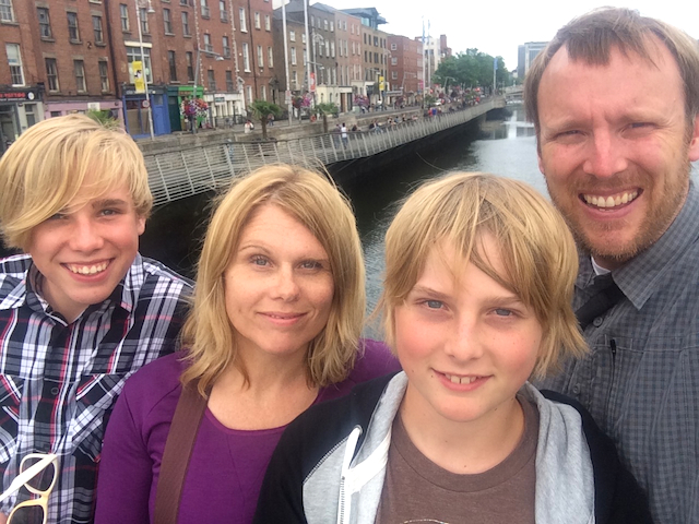 Us, Dublin and the River