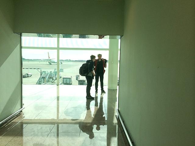 Barcelona El Prat Airport, February 2015