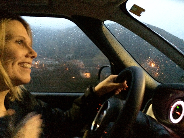 Me Driving the Amalfi Coast. How crazy is that?