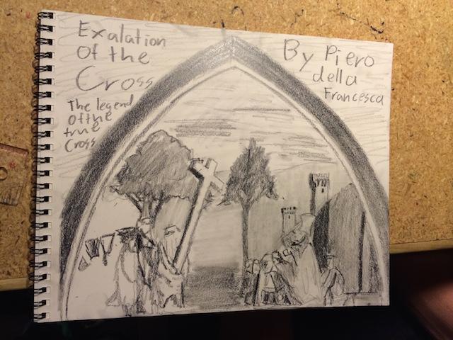 Kyle's Journal Assignment For Art Class