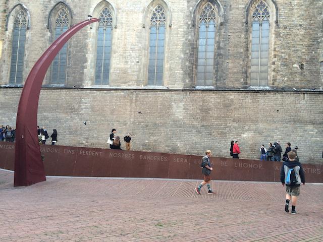 Gothic Quarter, Barcelona, Spain, 2015