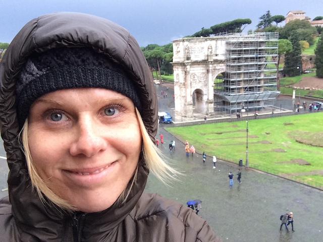 Me Standing in the Coliseum Rome November 2013