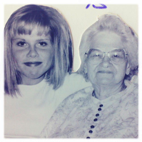 Me and my Grandma Koener