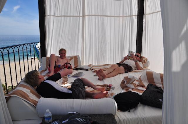 Hilton Los Cabos Beach Cabana