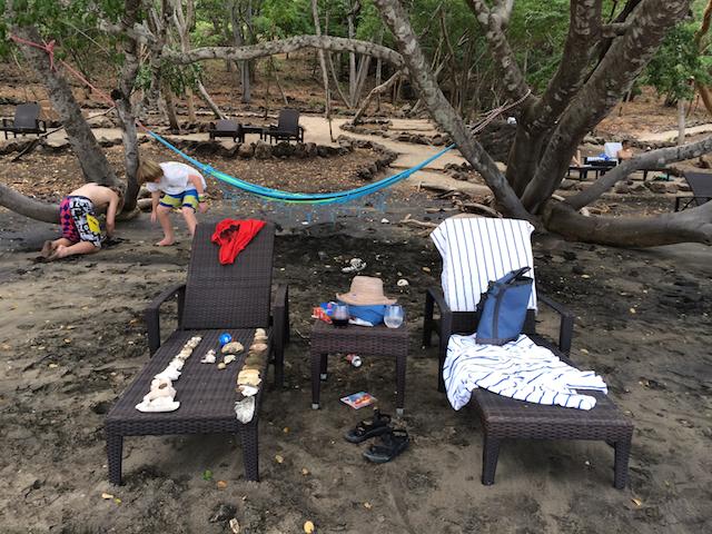 Beach at the Andaz Papagayo, Costa Rica