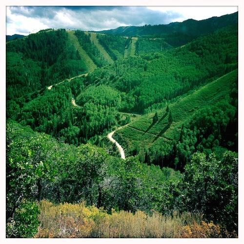 Top of Rob's Trail, Park City, Utah