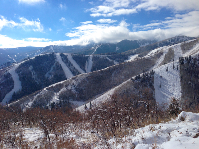 The top of Rob's Trail, Park City, Utah
