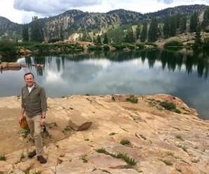 Hiking thee Albion Basin to Cecret Lake, Little Cottonwood Canyon, Utah