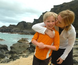 Kyle and I, Oahu on our first visit to Hawaii