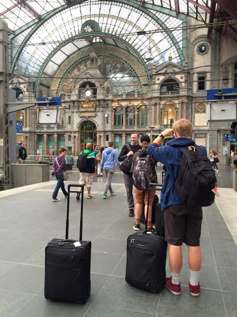 Antwerp, Belgium: Antwerp Central Train Station