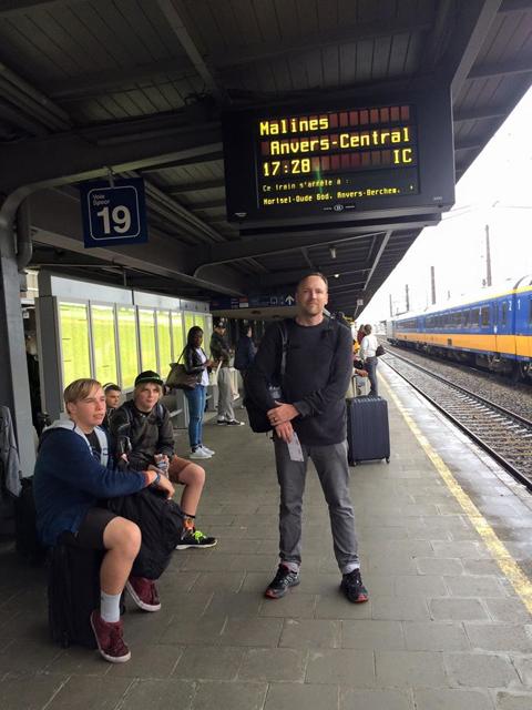 Bruxelles-Midi Train Station, Brussels, Belgium