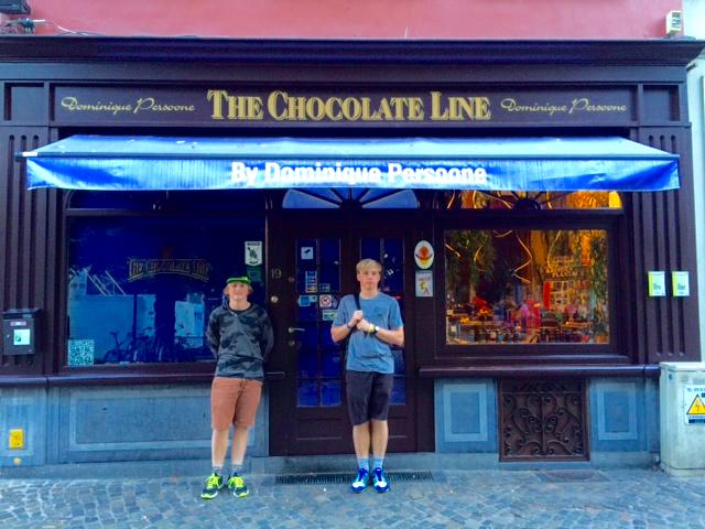 The Chocolate Line, Bruges, Belgium