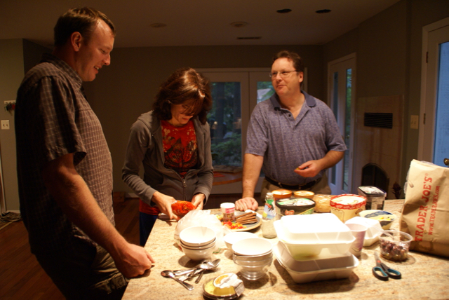 Dave, Bill and Stephanie, Northern Virginia, 2010