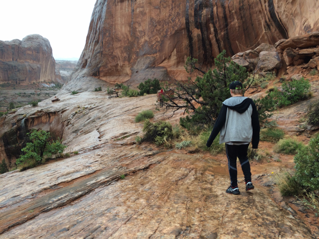 Southern Utah in the rain