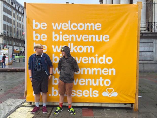 The Boys, Brussels. Belgium