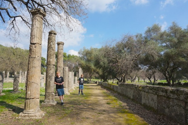 Beautiful Ancient Olympia, Greece