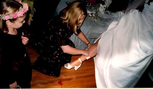 Minneapolis, MN: My sister, Brenda's, wedding, October, 1999