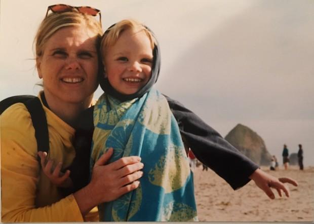 Kyle and I at the Oregon Coast Summer 2003