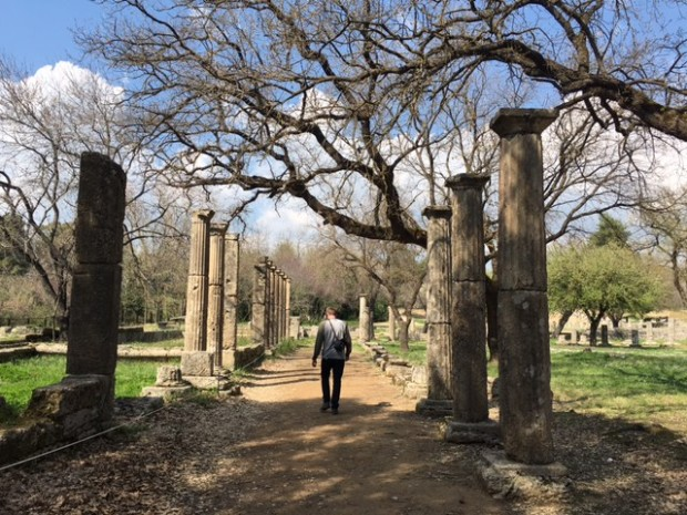 Ancient, Olympia, Greece