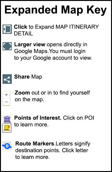 Itinerary Maps FAQ - CrazyUS.com on crazy virginia, crazy california, crazy walmart, crazy directions map, crazy rush limbaugh,