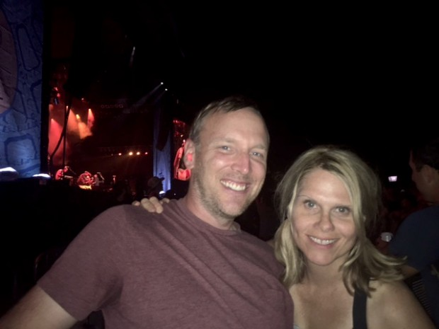 Austin City Limits 2016: Dave and I at the Mumford and Sons Concert.