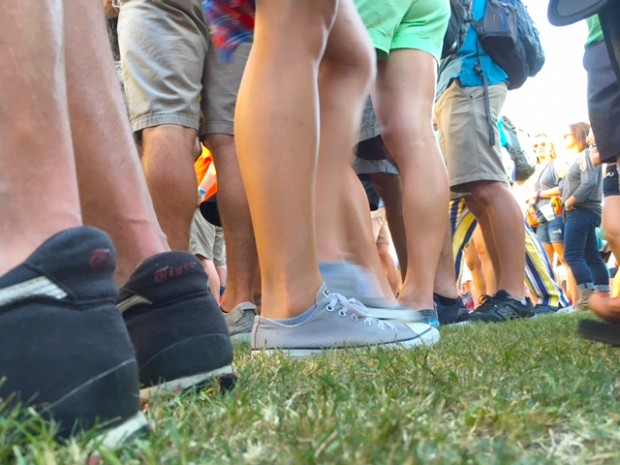 Austin City Limits Music Festival, Feet at the Corinne Bailey Rae Concert, austin, Texas