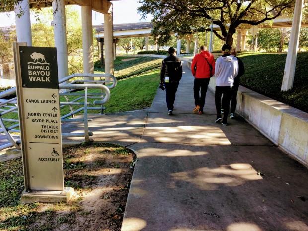 Buffalo Bayou Park, Houston, Texas