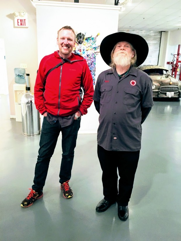 Dave and Gary, The Art Car Museum, Houston, Texas