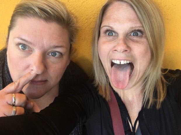 Marianne and I, Red Iguana 2, Salt Lake City, Utah