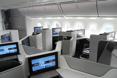 Air Canada 787 Business Class Seats