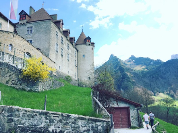 Gruyères Castle, Gruyères, Switzerland, April, 2017