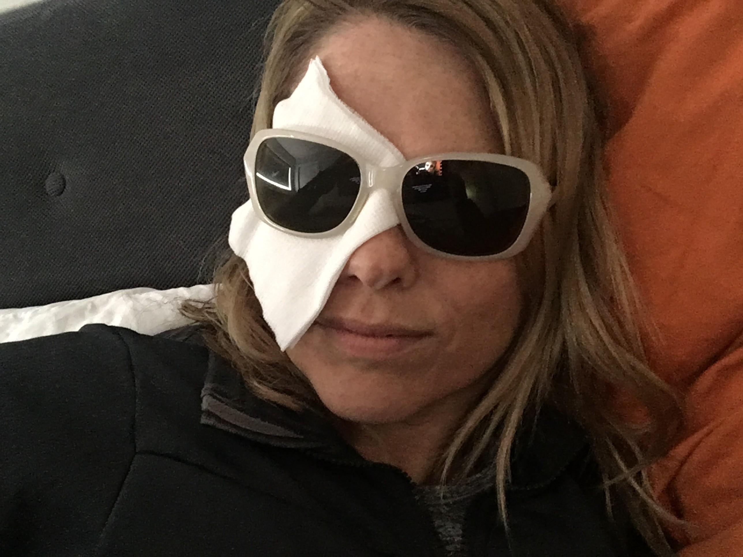 Me, post surgery, May, 2017, Salt Lake City, Utah