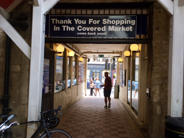 Oxford, England's Covered Market