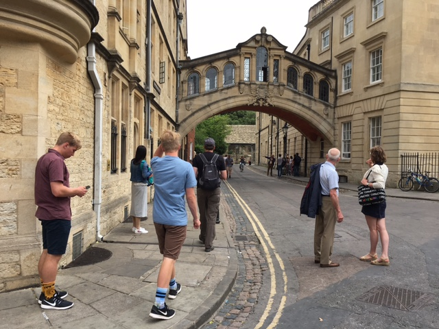 The people I love most, Oxford, England