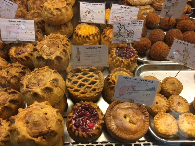 Fruit Pies from Oxford, England's Covered Market